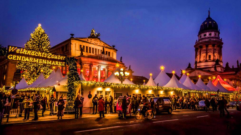 Рождественсая ярмарка Жандарменмаркт в Берлине