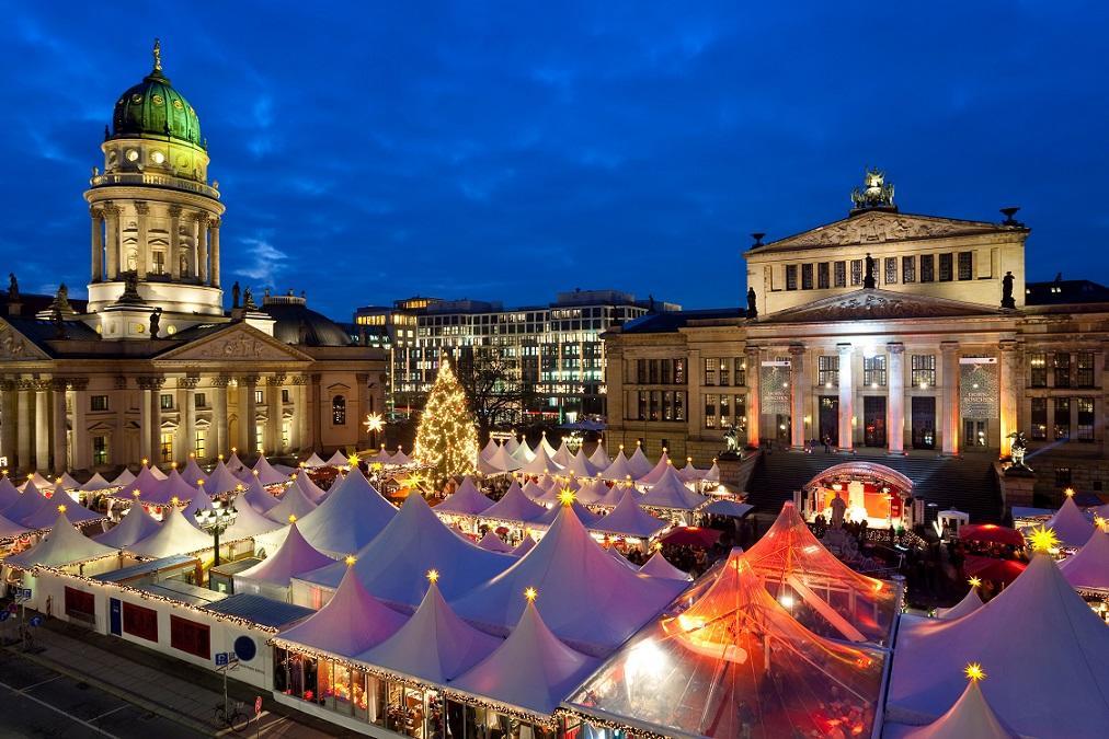 Рождественские ярмарки в Берлине 2018