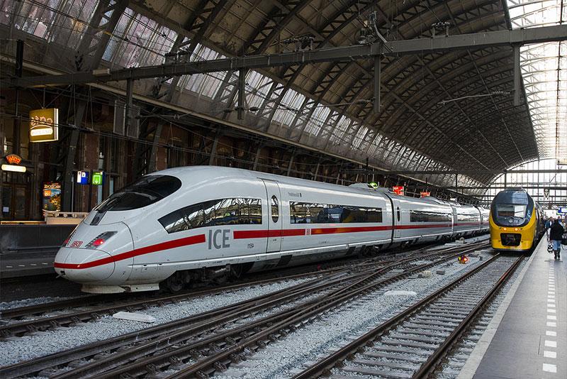 Поезд Берлин - Кёльн