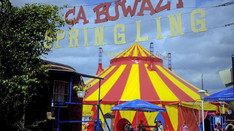 Цирк Cabuwazi Берлин