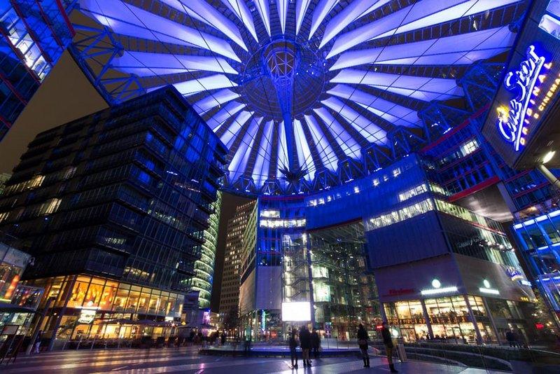 Сони центр в Берлине
