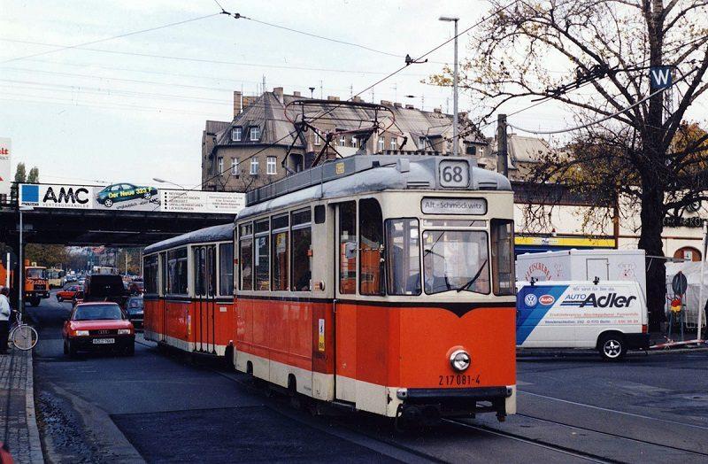 Трамваи в Берлине