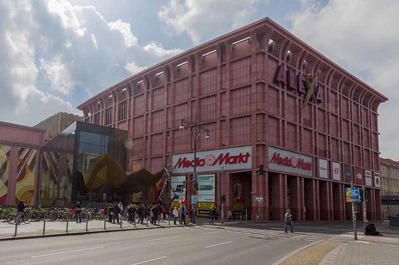 Alexa - магазин на Александерплац