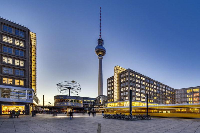 Главная площадь Берлина - Александерплац