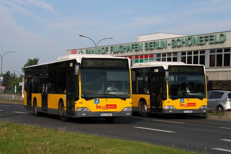 Как добраться из аэропорта Шенефельд в Берлин на автобусе