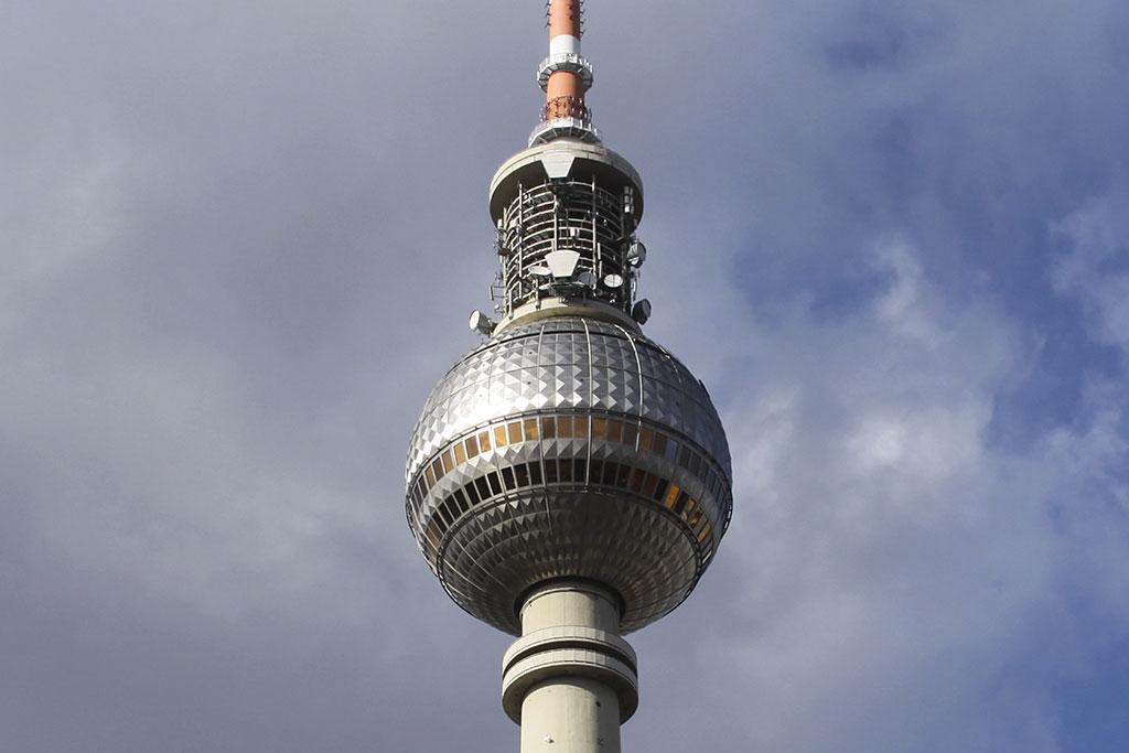 смотровая площадка Берлинской телебашни