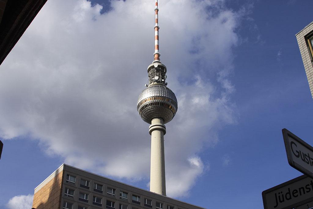 как добраться до берлинской телебашни