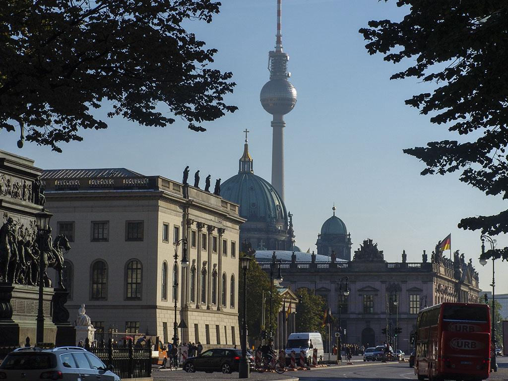 фото Берлинской телебашни
