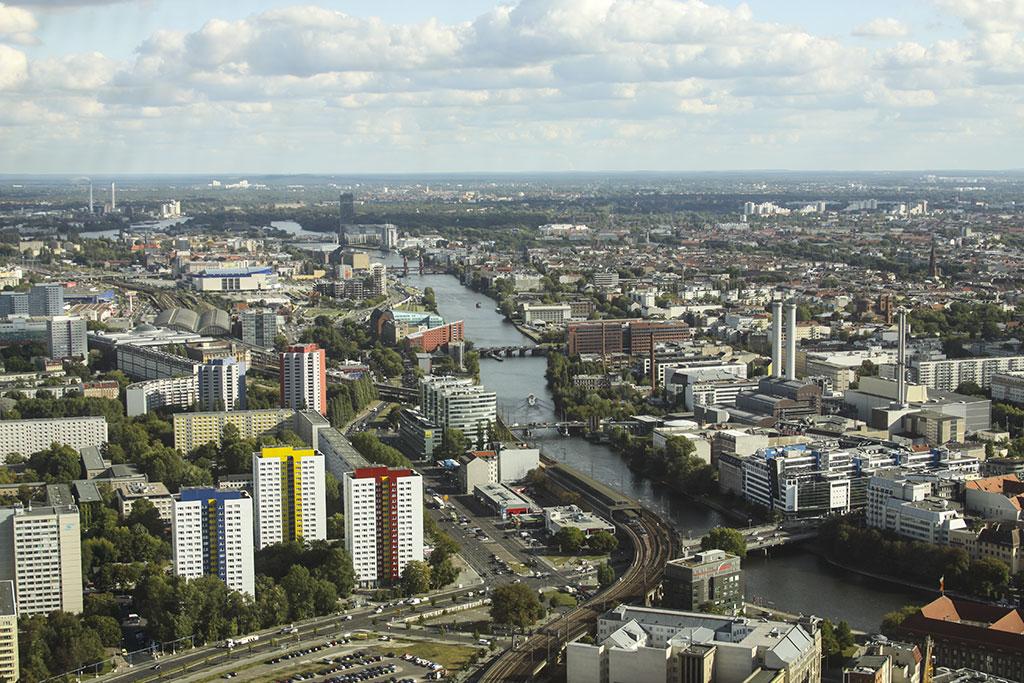 фото с берлинской телебашни