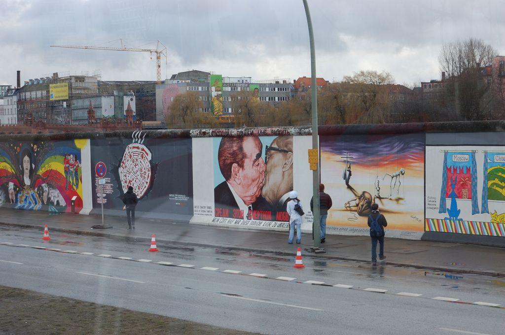 Поцелуй Брежнева на Берлинской стене