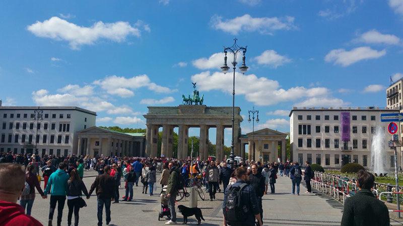 Фото Бранденбургских ворот