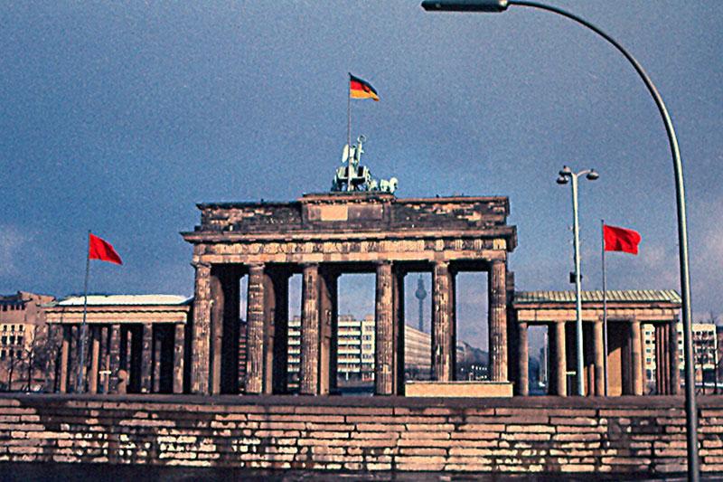 Бранденбургские ворота при СССР
