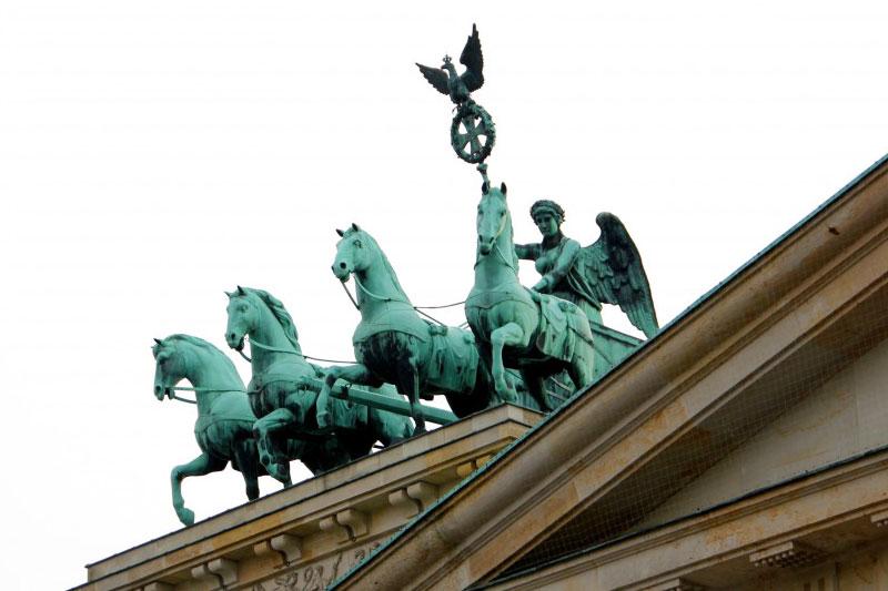 Квадрига на Бранденбургских воротах