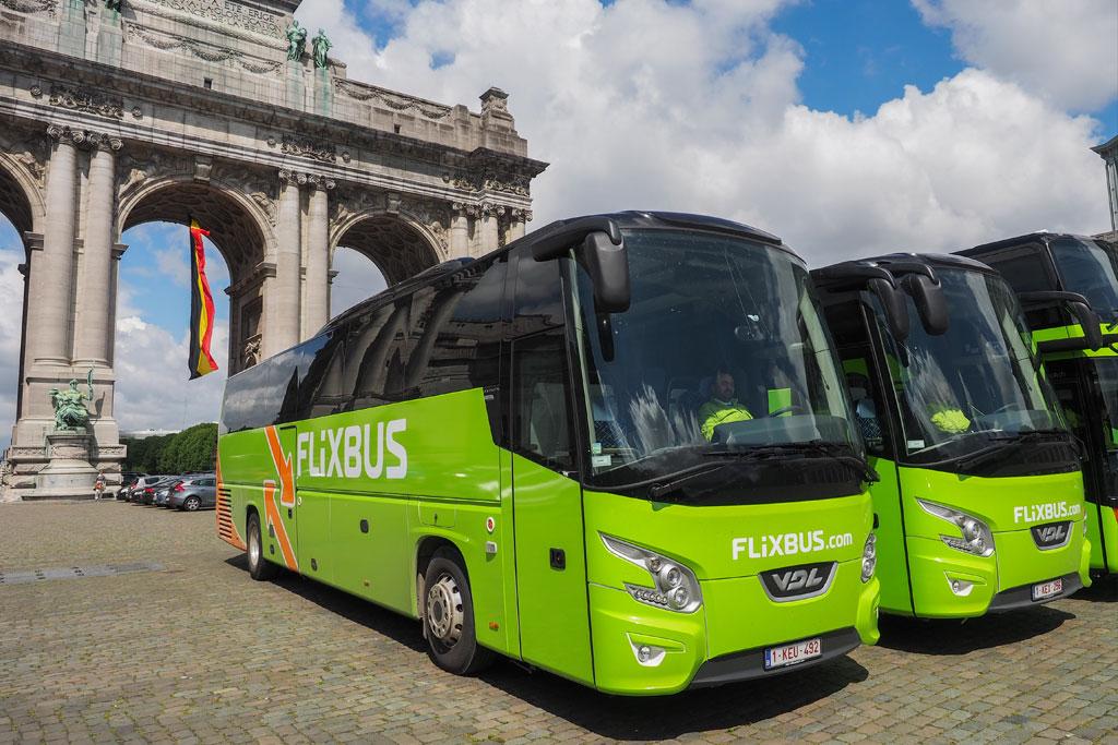 автобусный рейс Берлин - Кёльн
