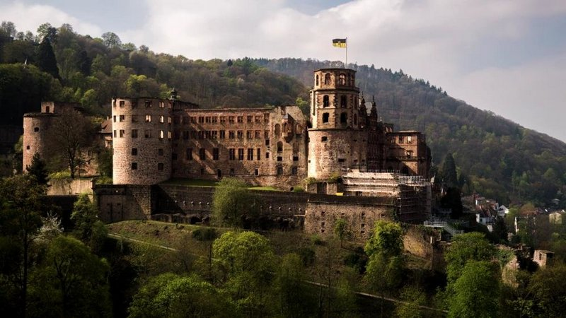 Гейдельберский замок в Германии