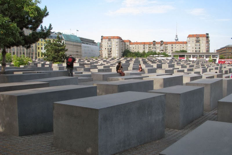 Мемориал памяти убитых евреев Европы