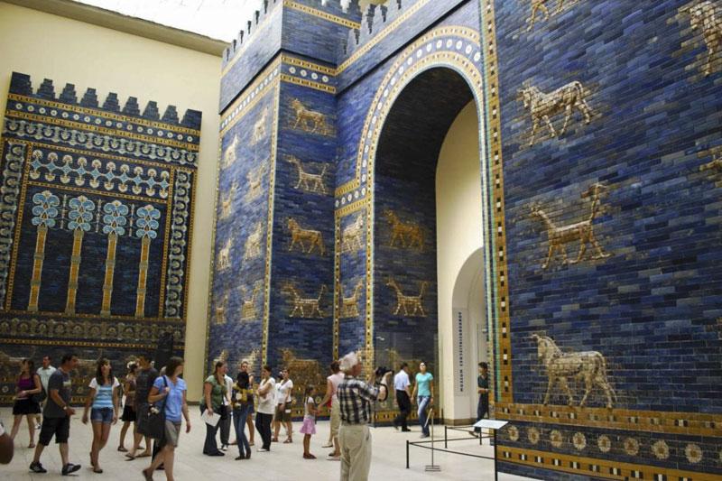 Ворота Вавилона в Пергамском музее
