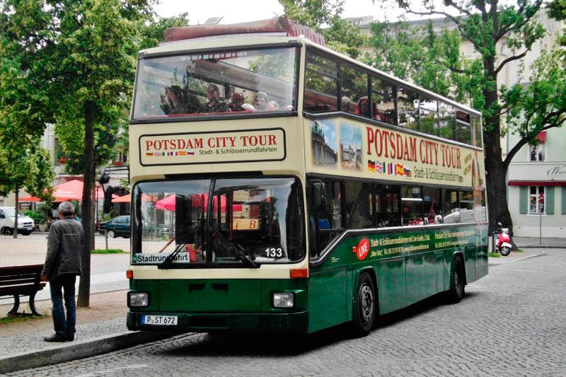 Hop on hop off Potsdam автобусная экскурсия