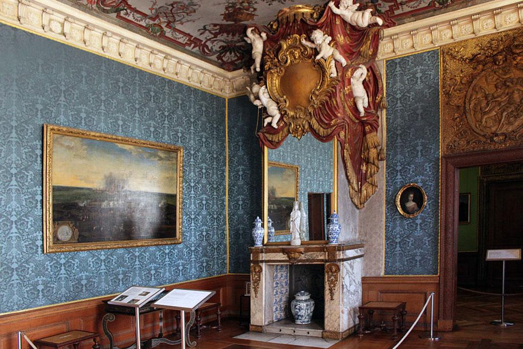 Во дворце Шарлоттенбург