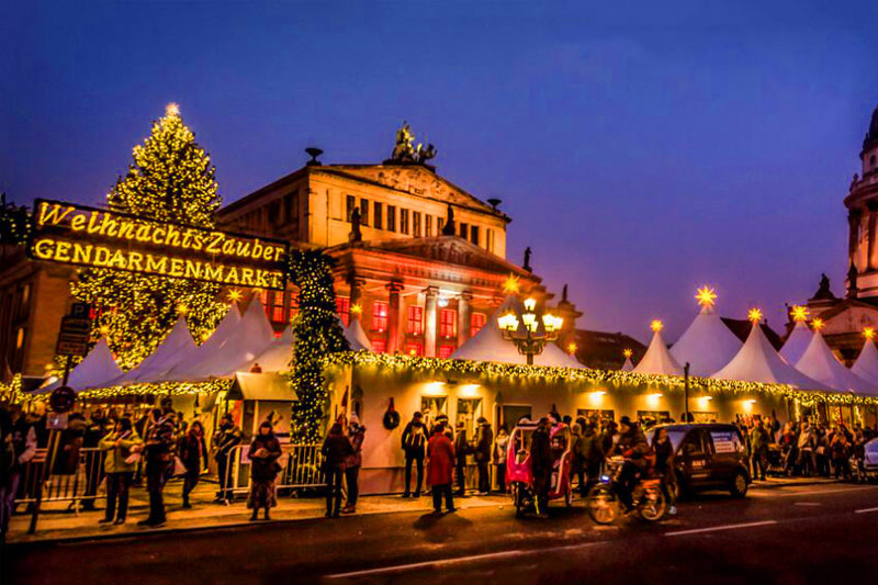 Зимний Берлин на фото